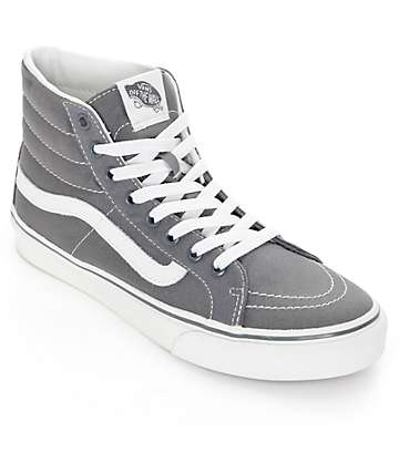 Vans Sk8 Hi Slim Castlerock Shoes (Womens)