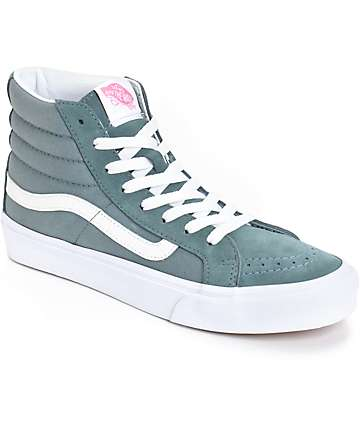 Vans Sk8-Hi Slim Stormy Weather Shoes (Womens)