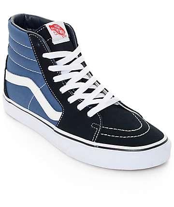 Vans Sk8-Hi zapatos de skate en azul marino