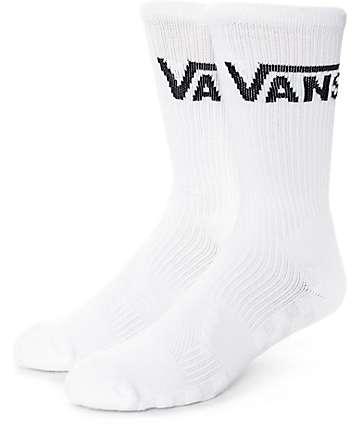 Vans Skate White Crew Socks