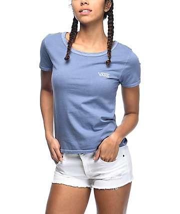 Vans Skimmer Blue Pigment Dyed T-Shirt