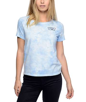 Vans Skimmer Light Blue Cloudwash T-Shirt