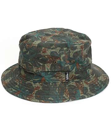 Vans Spackler Tropical Camo Bucket Hat