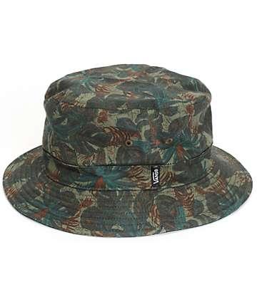 Vans Spackler Tropical Camo Bucket Hat