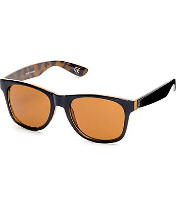 Vans Spicolli Black & Honey Tortoise Sunglasses