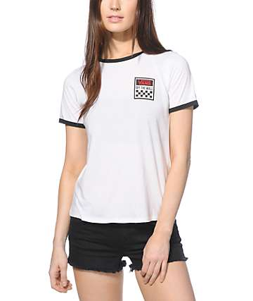 Vans Square Pet Ringer T-Shirt