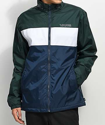 Vans Starboard Blue & Green Zip Jacket