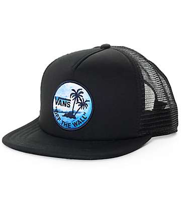 Vans Stay Classic Black Trucker Hat