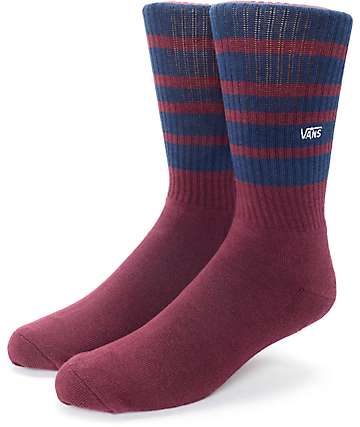 Vans Striped Port Royal Crew Socks