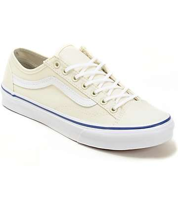 Vans Style 36 Slim Classic White Shoes (Womens)