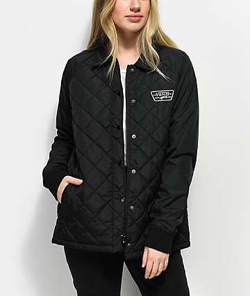 Vans Thanks MTE chaqueta entrenador acolchada en negro