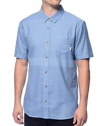 Vans The Seely Indigo Button Up Shirt