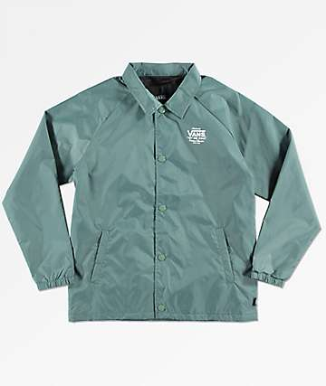 Vans Torrey Forest Green Coaches Jacket