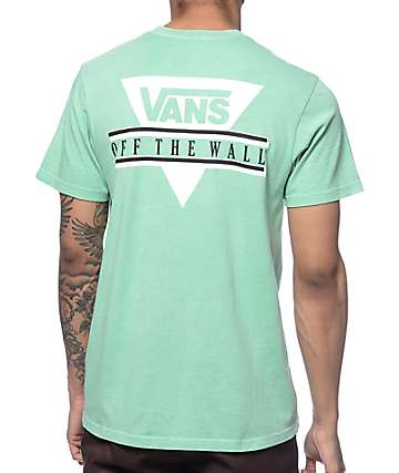 Vans Triangle 2 Mint T-Shirt