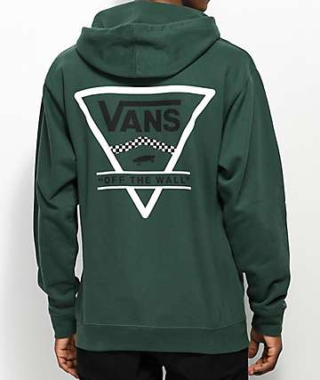 Vans Triangle Alpine Green Hoodie
