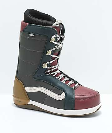 Vans V-66  Green Snowboard Boot