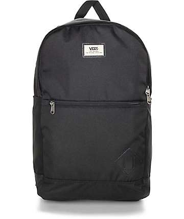 Vans Van Doren II 29L Black Backpack