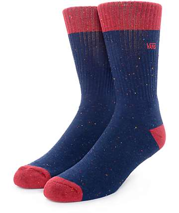 Vans Wheeler Dress Blues Crew Socks