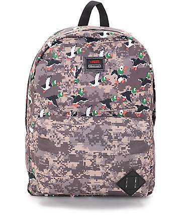 Vans X Nintendo Old Skool II Duck Hunt 22L Backpack