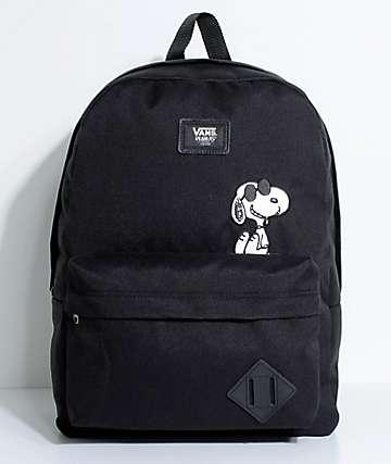 Vans X Peanuts Old Skool II Black Backpack