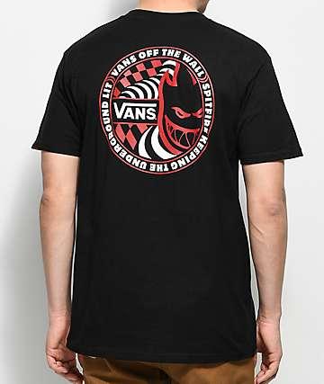 Vans X Spitfire camiseta negra