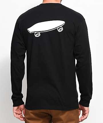 Vans X Spitfire camiseta negra de manga larga