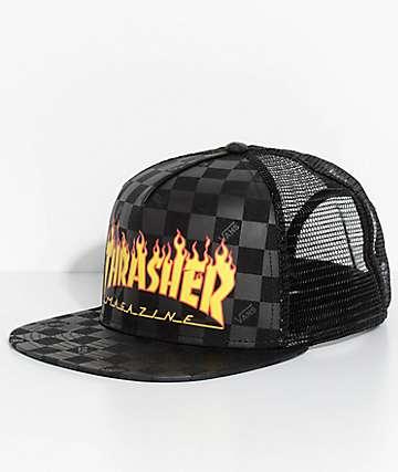 Vans X Thrasher Black Snapback Hat