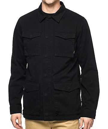 Vans X Thrasher M65 chaqueta negra