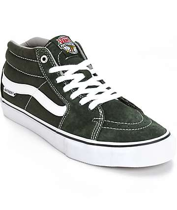Vans x Anti Hero Sk8 Mid Skate Shoes (Mens)