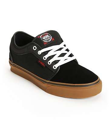 Vans x Independent Chukka Low Black Skate Shoes (Mens)