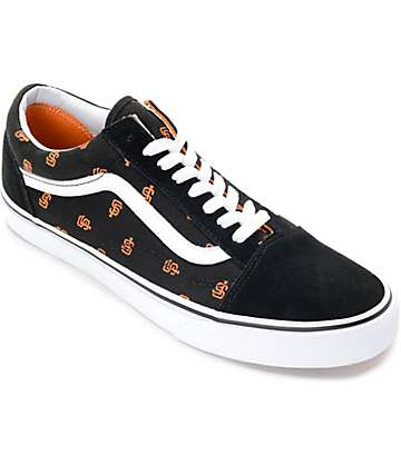 Vans x MLB Old Skool Giants Skate Shoes