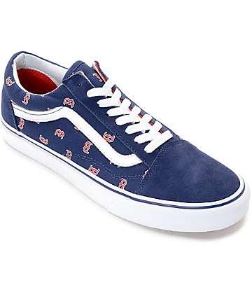 Vans x MLB Old Skool Red Sox zapatos de skate