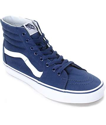 Vans x MLB Sk8-Hi Yankees zapatos de skate en azul marino