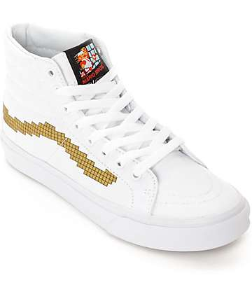Vans x Nintendo Sk8 Hi Slim Super Mario Bros Shoes (Womens)