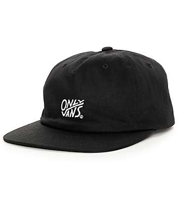 Vans x Only NY Black Strapback Hat