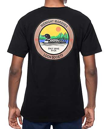 Vans x Only NY Loon Society Black T-Shirt