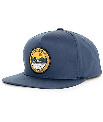 Vans x Only NY Loon Society Navy Snapback Hat