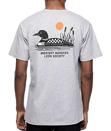 Vans x Only NY Marshes Heather Grey T-Shirt