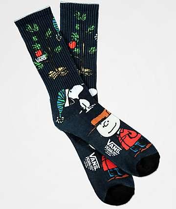 Vans x Peanuts Christmas Crew Socks