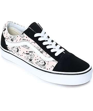 Vans x Peanuts Old Skool Smack Pearl zapatos de skate