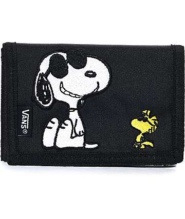 Vans x Peanuts Slipped Black Wallet