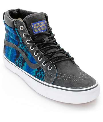 Vans x Pendleton Sk8 Hi MTE Skate Shoes (Mens)