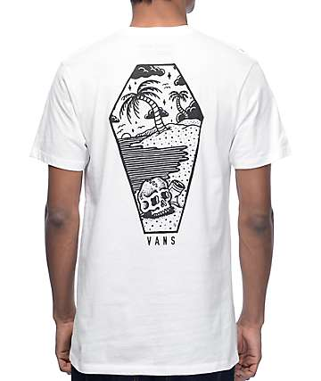 Vans x Sketchy Tank Sketched Out camiseta blanca