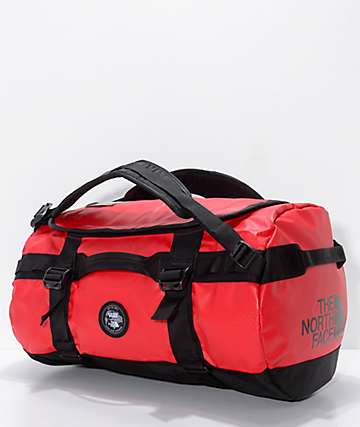 Vans x The North Face Base Camp Red 50L Duffel Bag