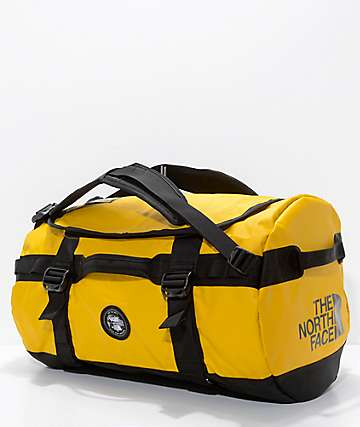 Vans x The North Face Base Camp Yellow 50L Duffel Bag