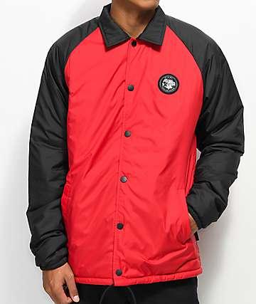 Vans x The North Face Torrey MTE chaqueta entrenador en rojo y negro