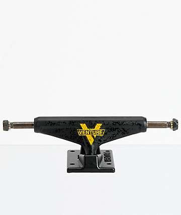 Venture Black Top 5.0 Lo ejes de skate negro