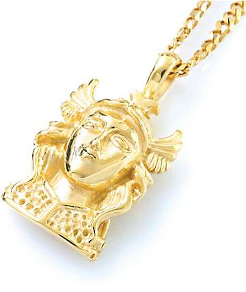 Veritas Athena Pendant Gold Necklace
