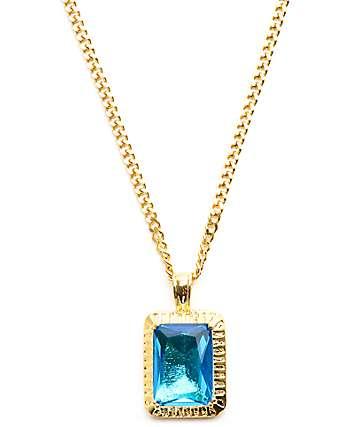 Veritas Sapphire Pendant Necklace