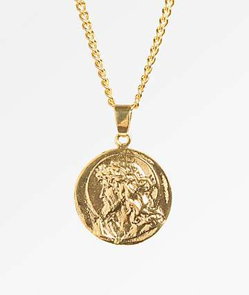 Veritas Vita Double Pendant Necklace